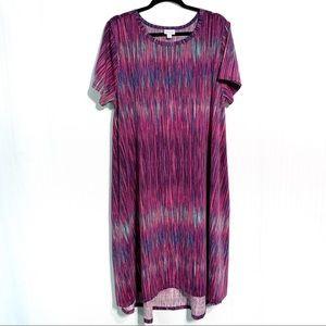 LuLaRoe Carly Swing Dress NO POCKET Size 2XL